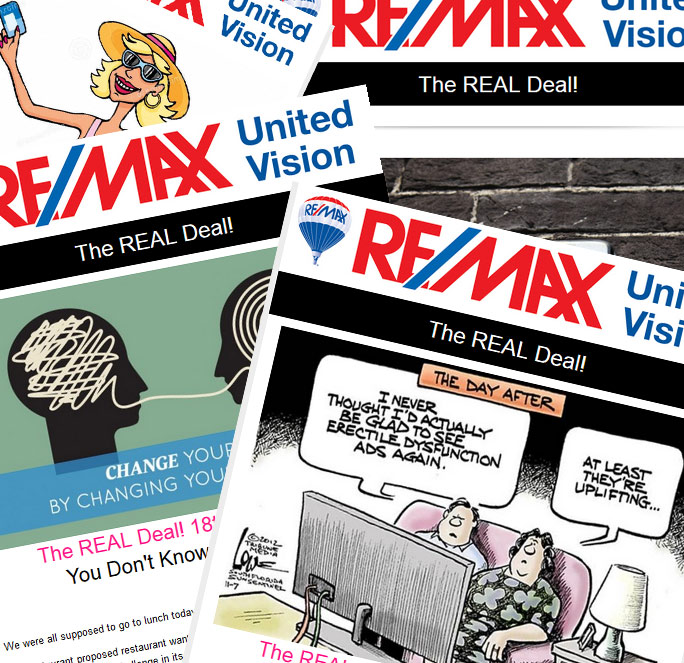 """Get the latest news from """"The Real Deal"""""""